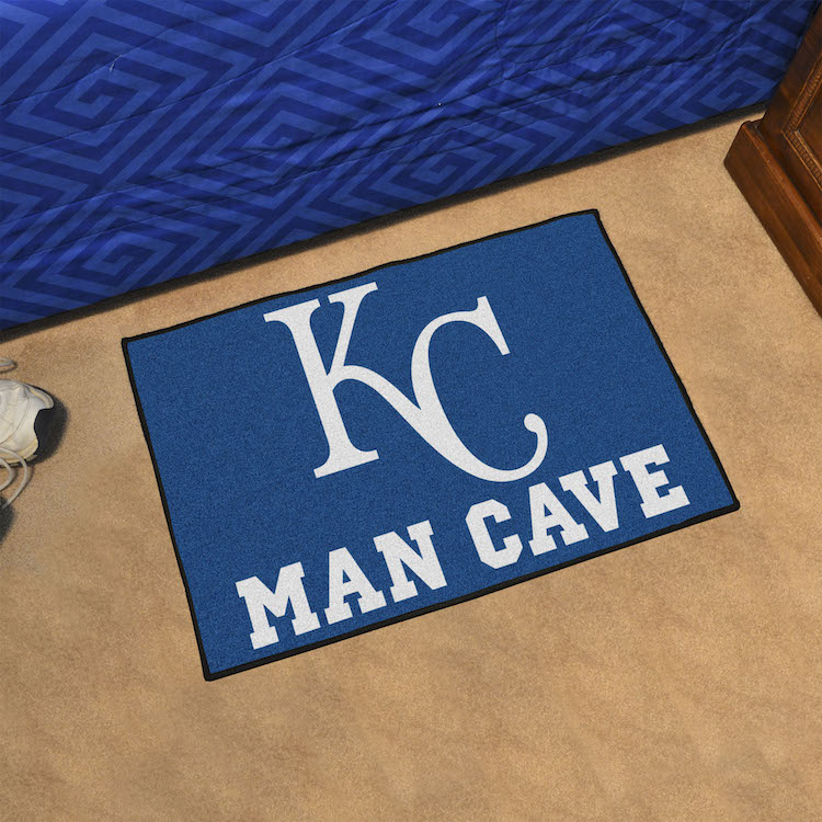 Kansas City Royals MAN CAVE 20 x 30 STARTER Floor Mat ...
