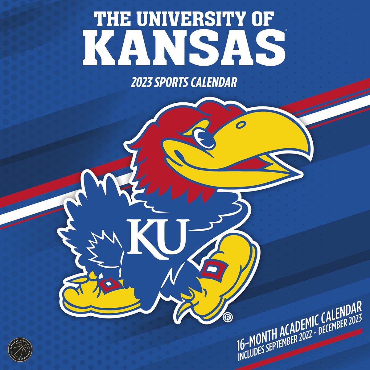 Kansas Jayhawks 2019 Wall Calendar Buy At Khc Sports