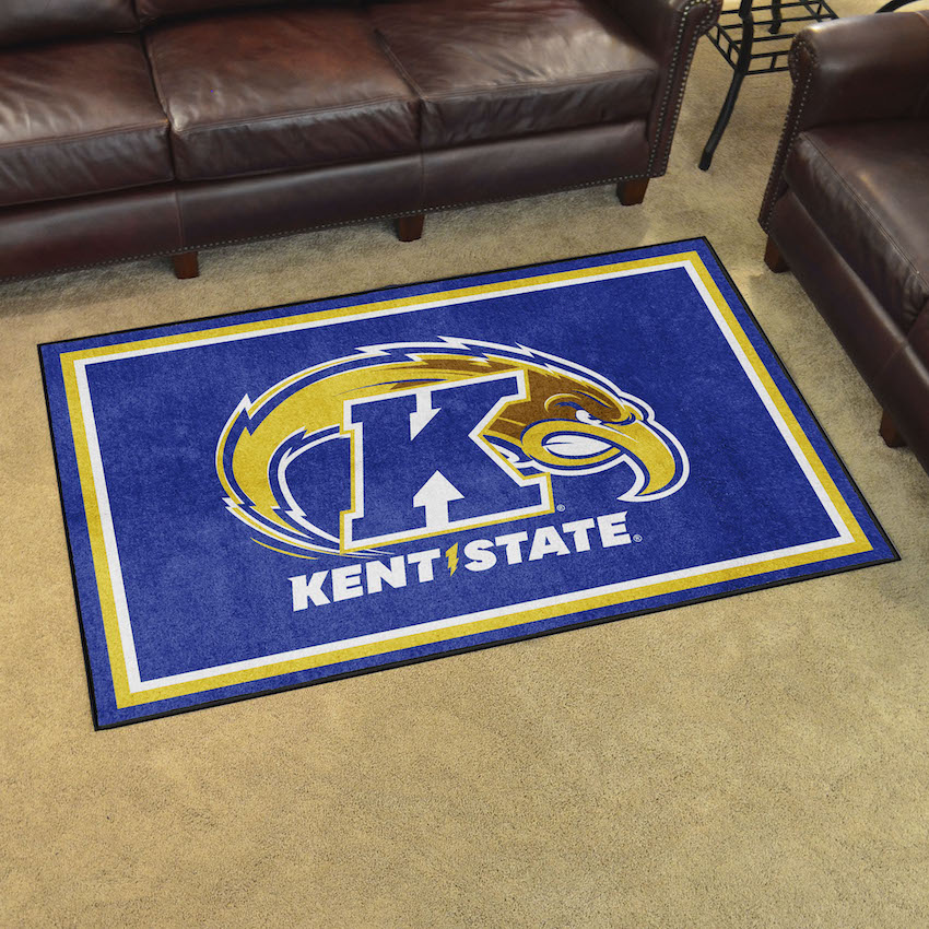 Kent State Golden Flashes 4x6 Area Rug
