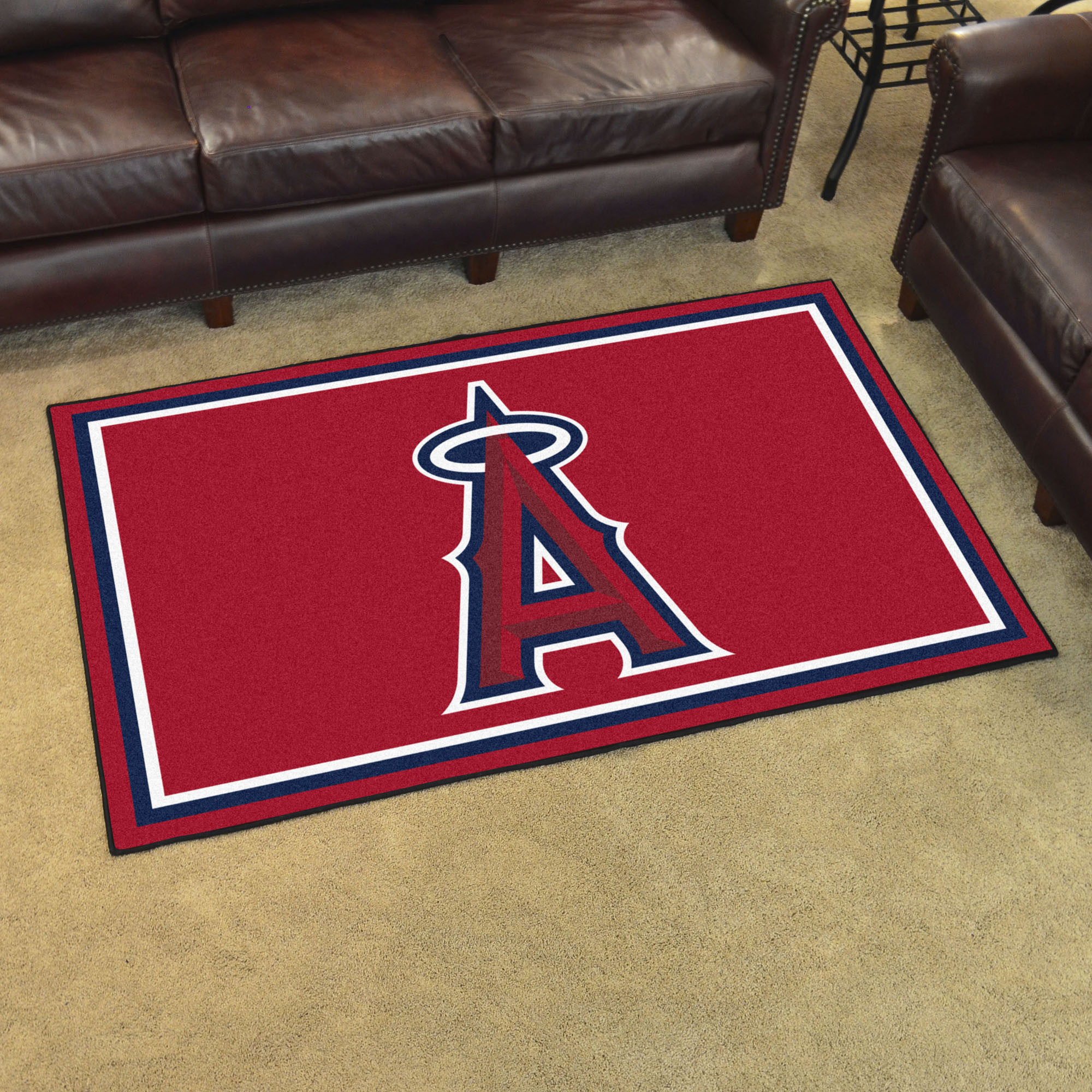 Los Angeles Angels 4x6 Area Rug