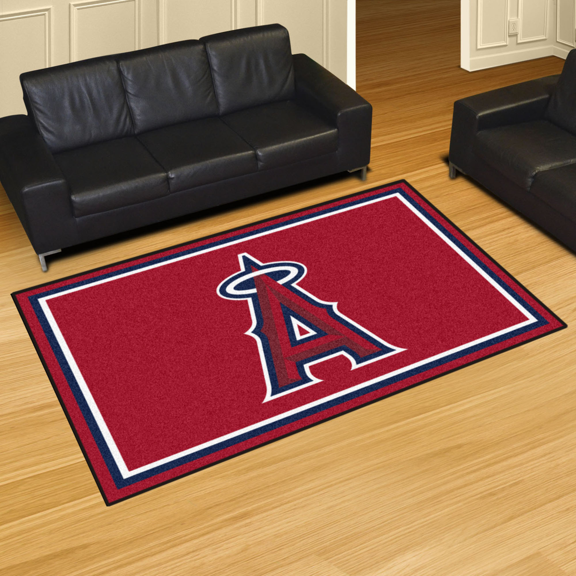 Los Angeles Angels 5x8 Area Rug