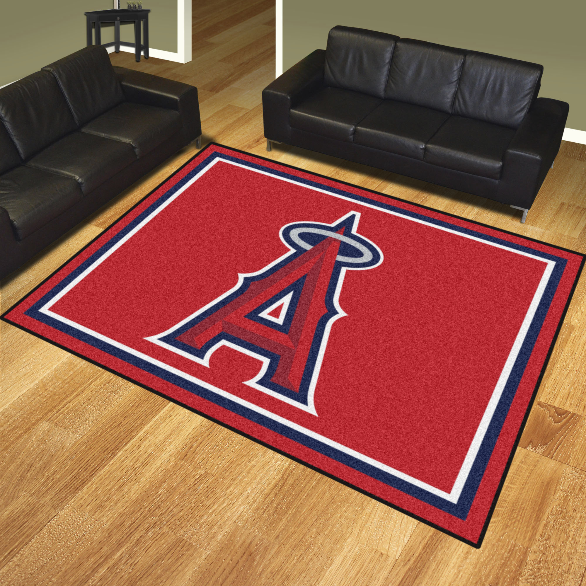 Los Angeles Angels Ultra Plush 8x10 Area Rug