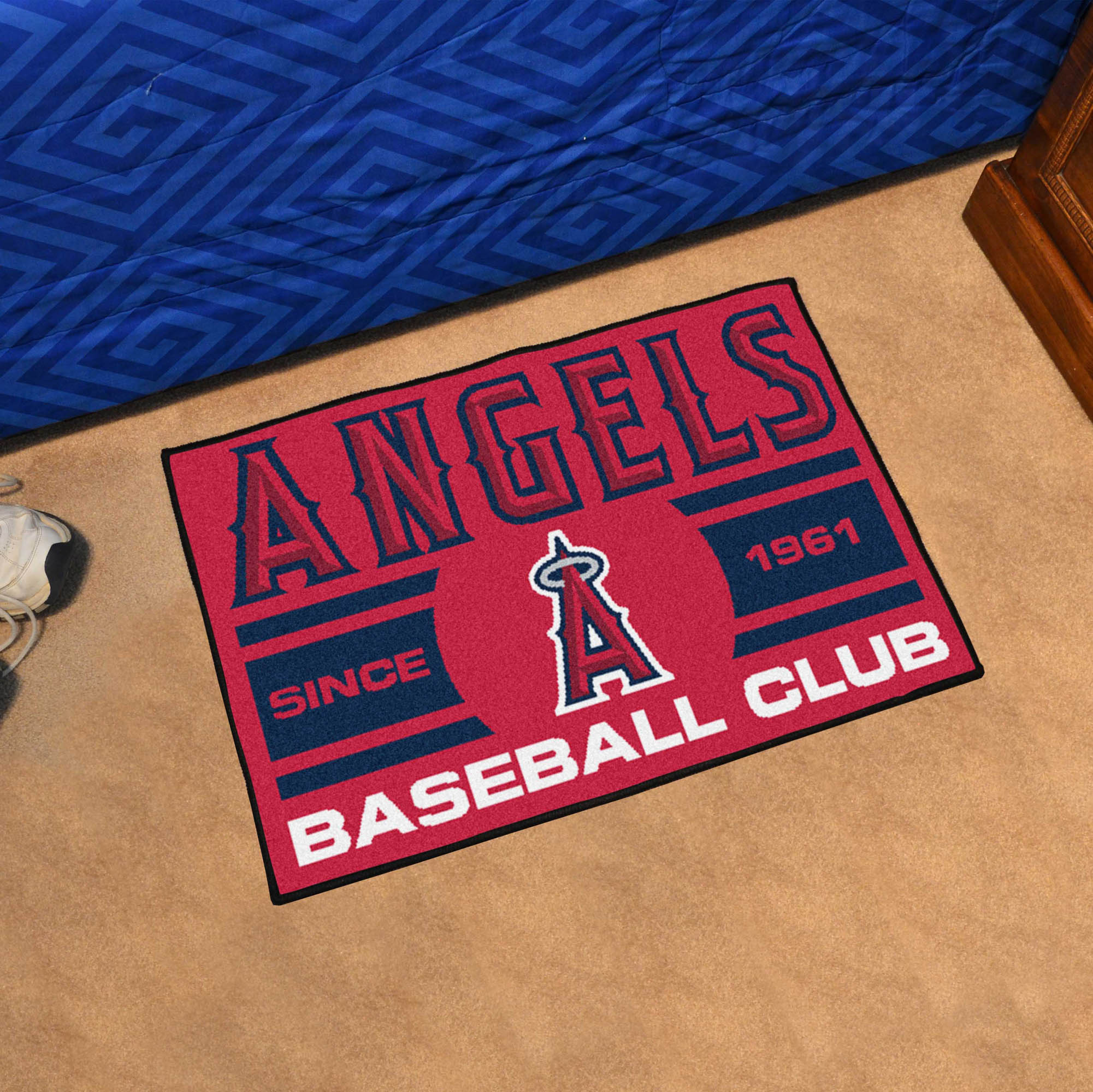 Los Angeles Angels 20 x 30 Uniform STARTER Floor Mat