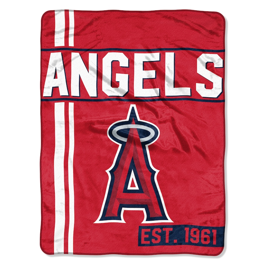 Los Angeles Angels STRUCTURE Micro Raschel 50 x 60 Team Blanket