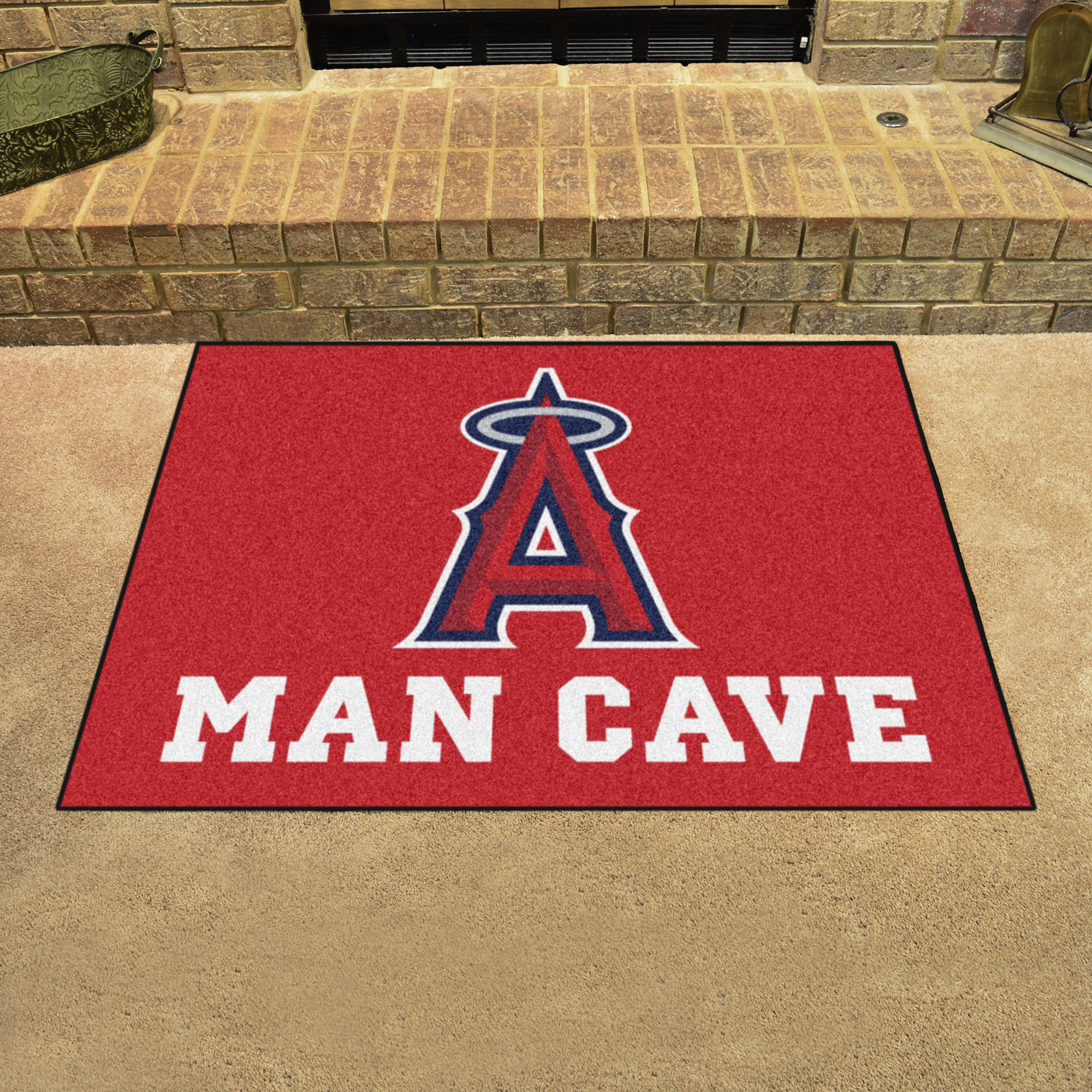 Los Angeles Angels ALL STAR 34 x 45 MAN CAVE Floor Mat