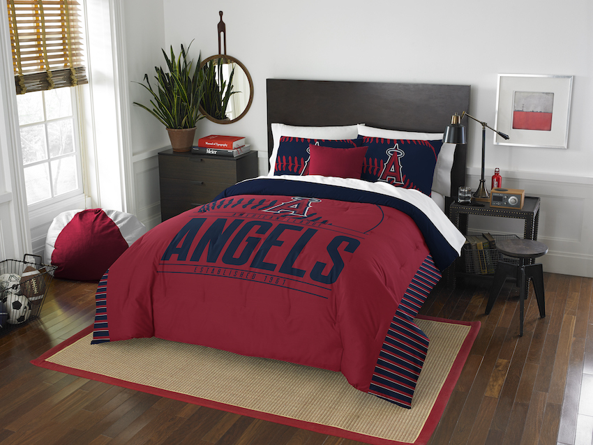 Los Angeles Angels QUEEN/FULL size Comforter and 2 Shams