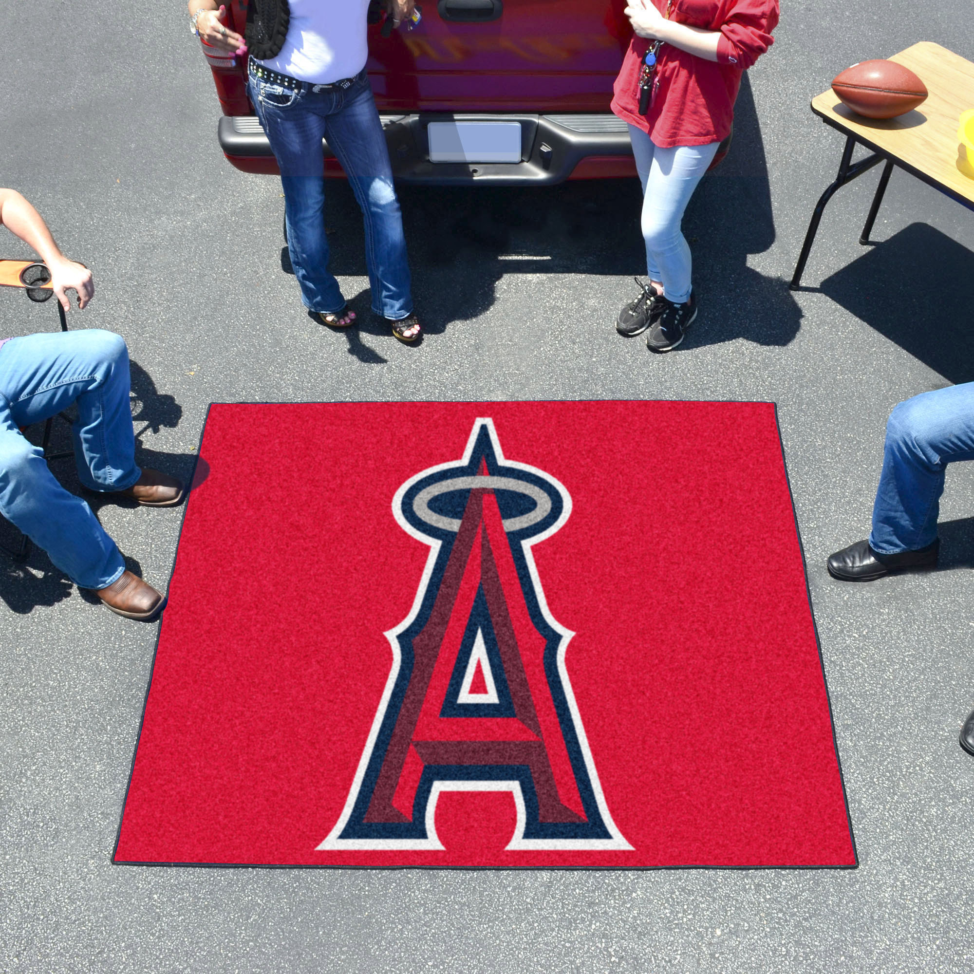 Los Angeles Angels TAILGATER 60 x 72 Rug