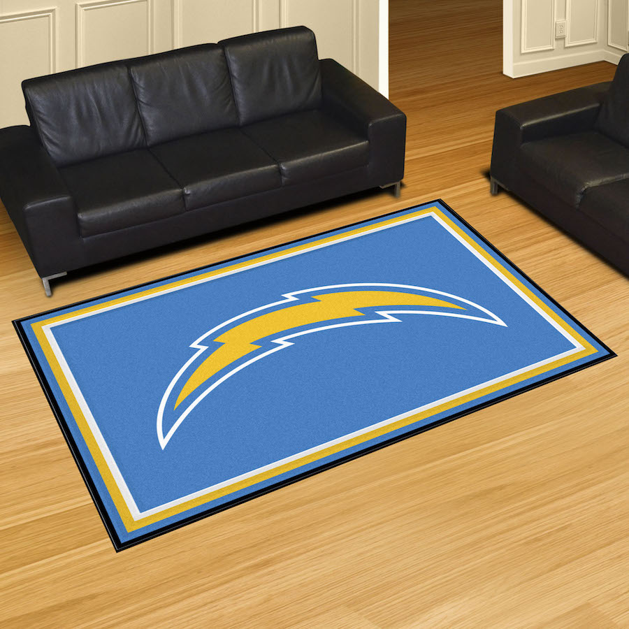 Los Angeles Chargers 5x8 Area Rug