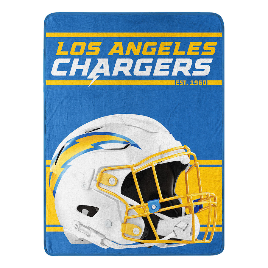Los Angeles Chargers Micro 50 x 60 Team Blanket