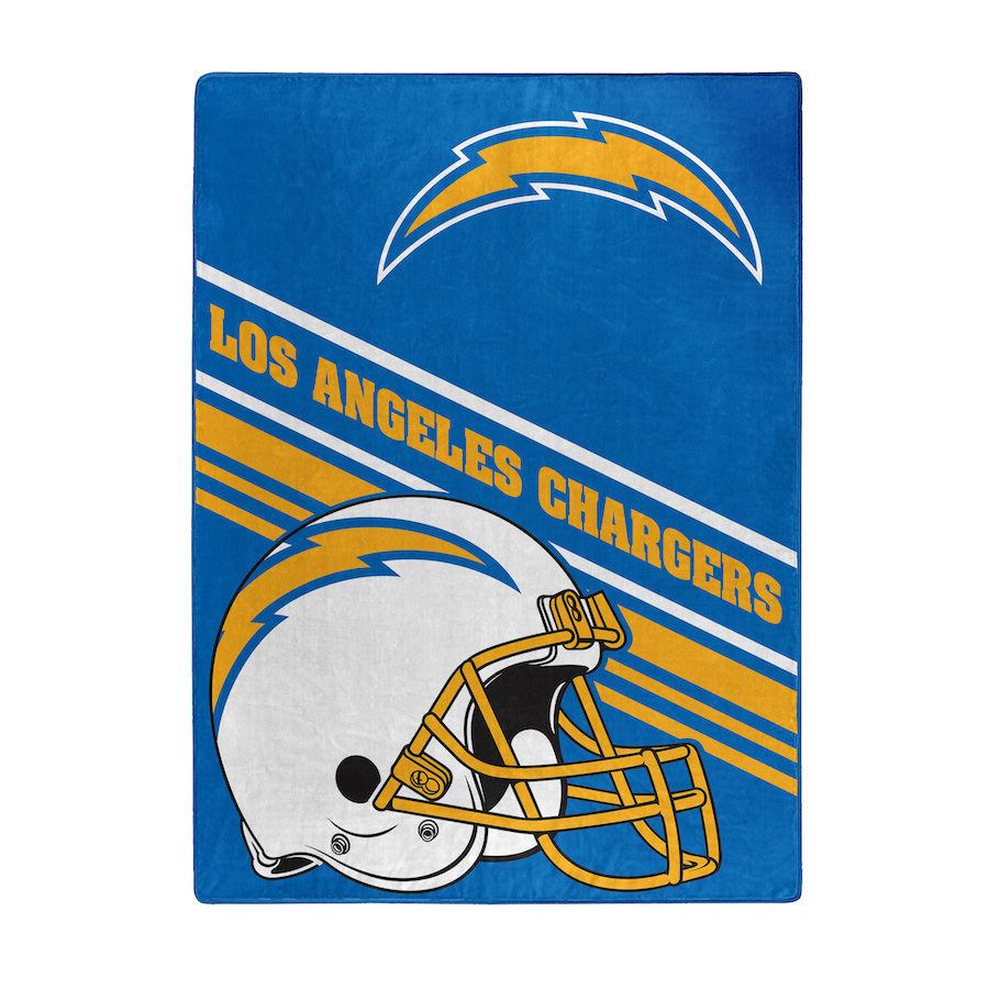 Los Angeles Chargers Silk Touch Rachel Throw Blanket 60 x 80