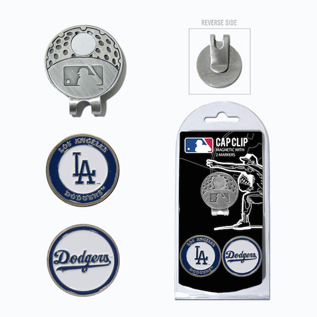 Los Angeles Dodgers Hat Clip With 2 Ball Markers