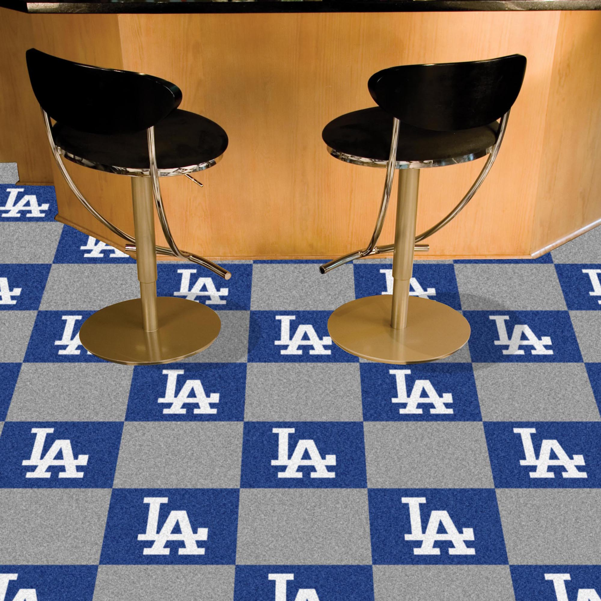 Los Angeles Dodgers Carpet Tiles 18x18 in.
