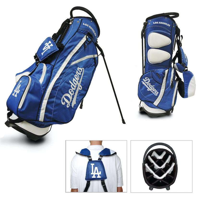 Los Angeles Dodgers Fairway Carry Stand Golf Bag