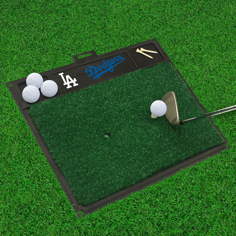 Los Angeles Dodgers Golf Hitting Mat