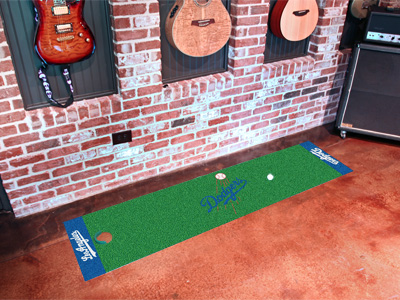 Los Angeles Dodgers Putting Green Mat 18 x 72