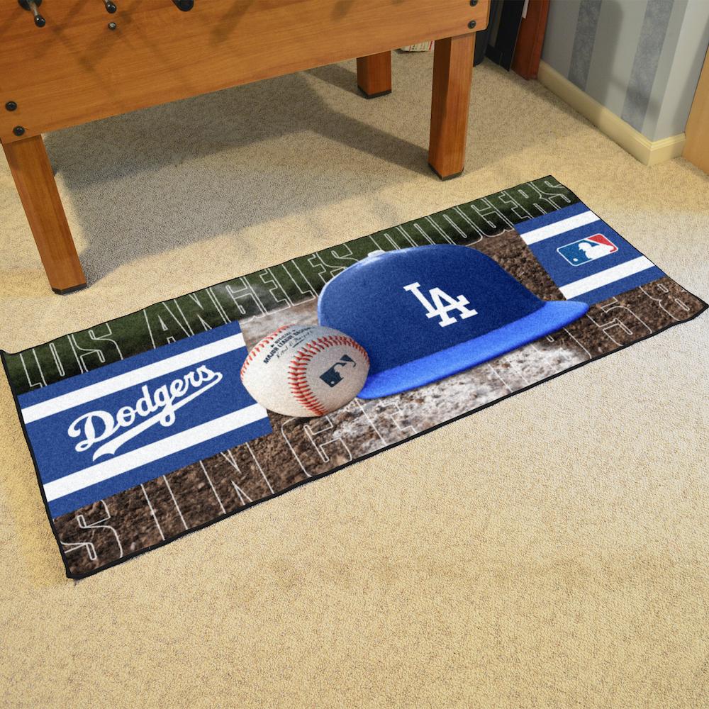 Los Angeles Dodgers Baseball Carpet Runner 30 X 72 Floor
