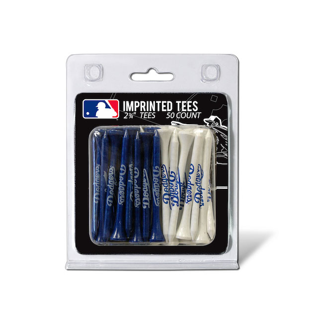 Los Angeles Dodgers 50 Imprinted Tee Pack