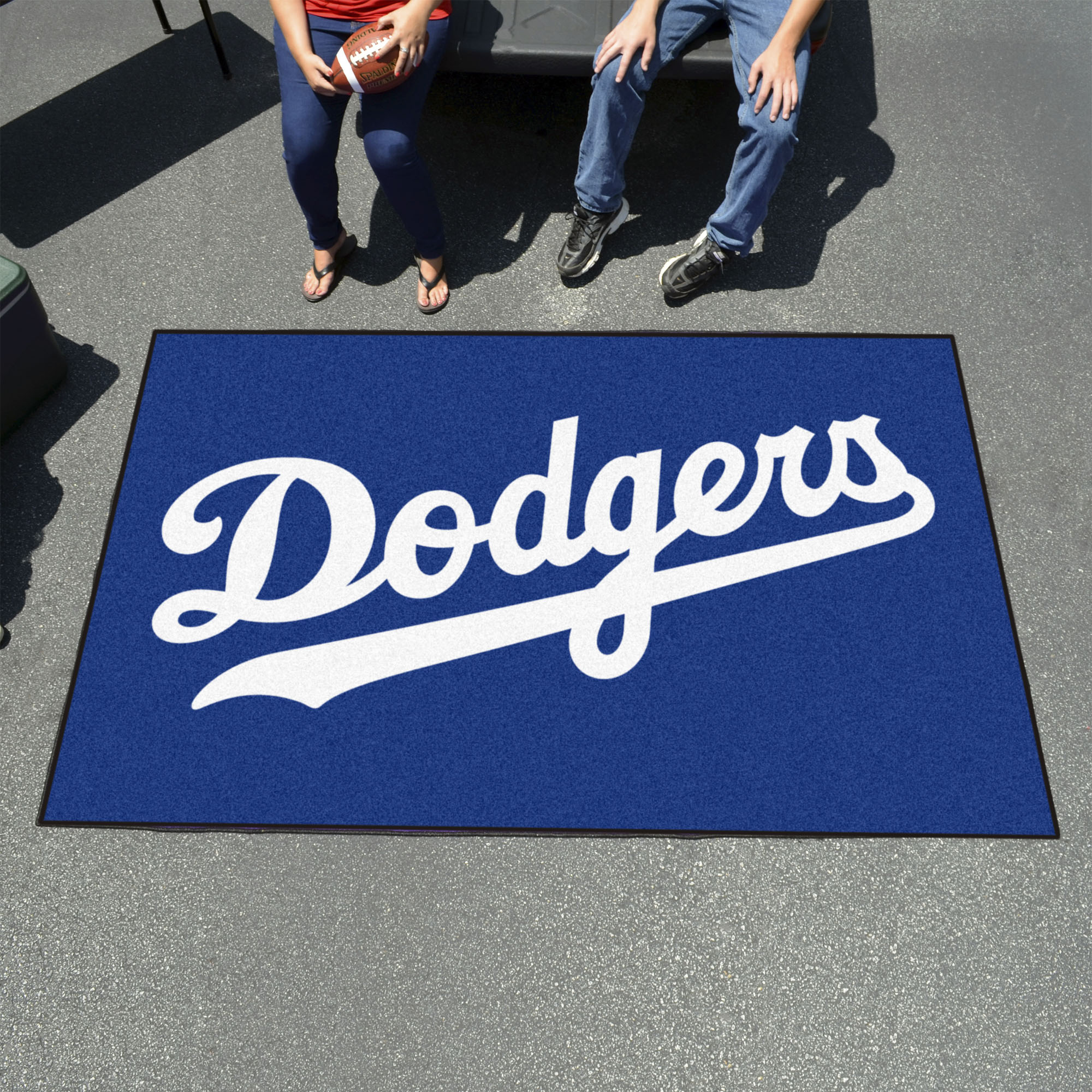 Los Angeles Dodgers Tailgater 60 X 96 Rug Buy At Khc Sports