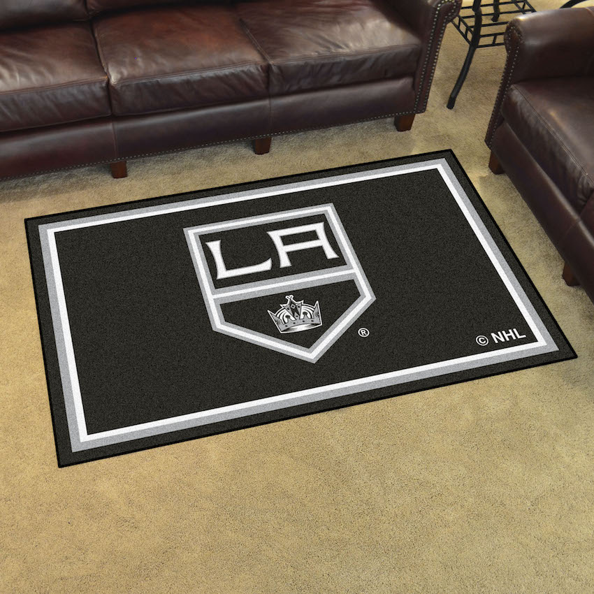 Los Angeles Kings 4x6 Area Rug
