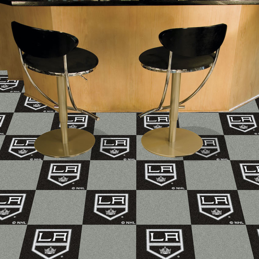 Los Angeles Kings Carpet Tiles 18x18 in.