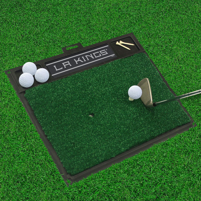 Los Angeles Kings Golf Hitting Mat