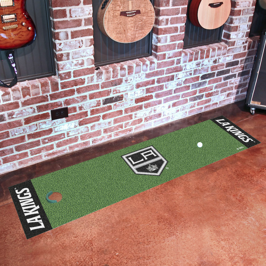Los Angeles Kings Putting Green Mat 18 x 72