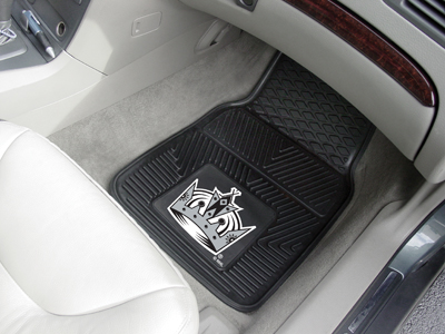 Los Angeles Kings Car Floor Mats 18 x 27 Heavy Duty Vinyl Pair