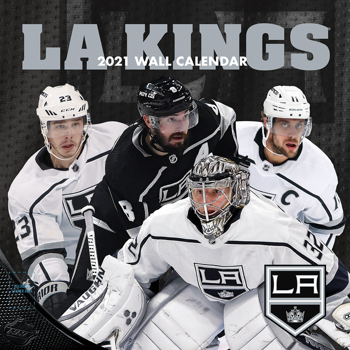 Los Angeles Kings 2018 Nhl Wall Calendar Buy At Khc Sports