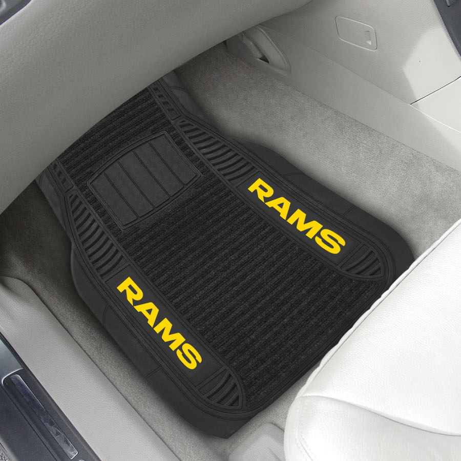 Los Angeles Rams Deluxe 20 x 27 Car Floor Mats