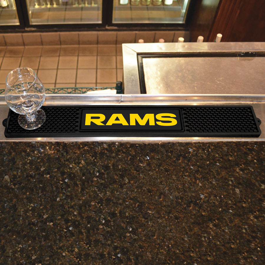 Los Angeles Rams Bar Drink Mat
