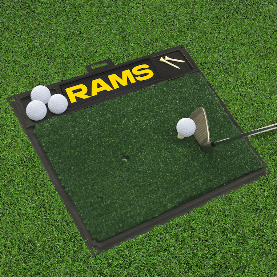Los Angeles Rams Golf Hitting Mat