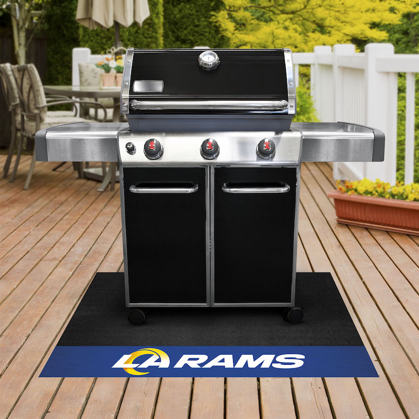 Los Angeles Rams NFL Grill Mat
