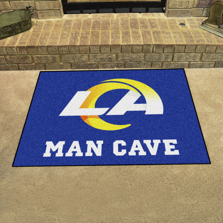 Los Angeles Rams ALL STAR 34 x 45 MAN CAVE Floor Mat