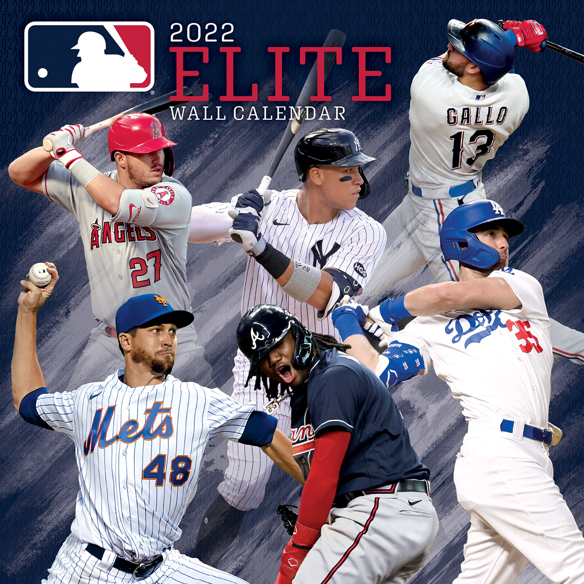 MLB ELITE 2019 MLB Wall Calendar