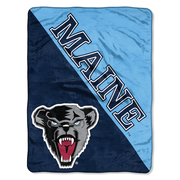 Maine Black Bears Micro Raschel 50 x 60 Team Blanket