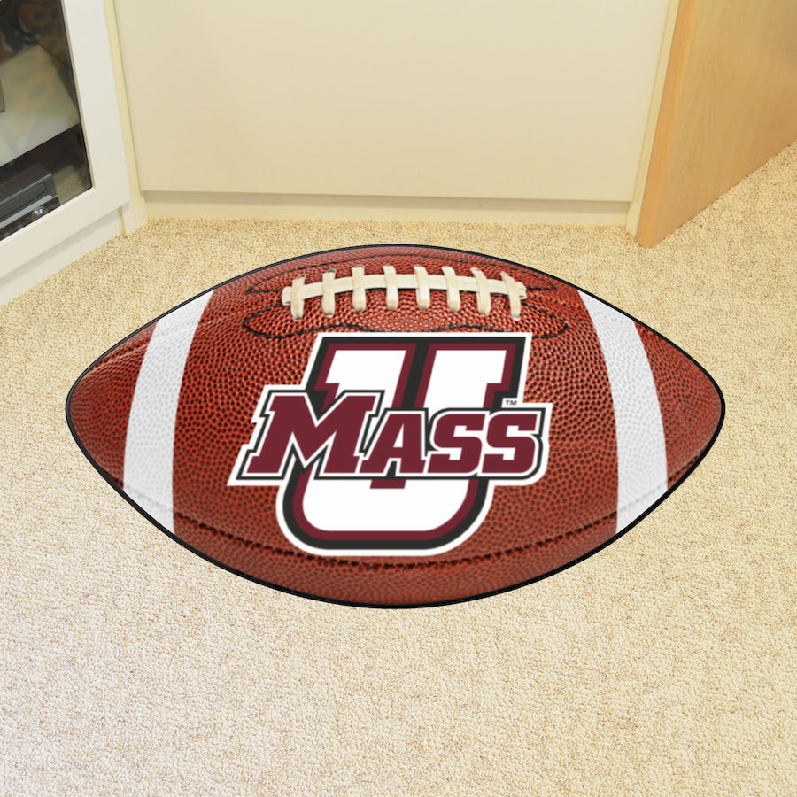 Massachusetts Minutemen 22 x 35 FOOTBALL Mat