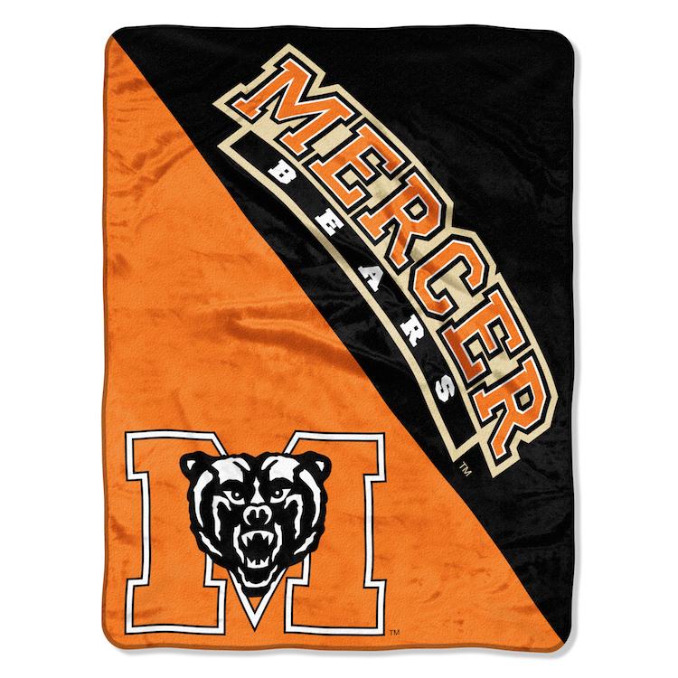 Mercer Bears Micro Raschel 50 X 60 Team Blanket Buy At