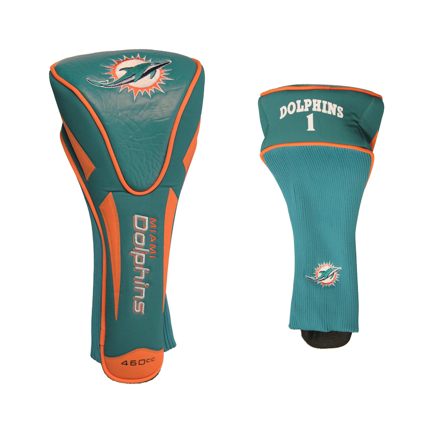 Miami Dolphins Single Apex Driver Headcover