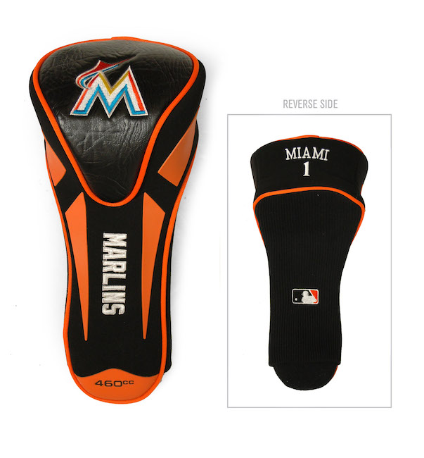 Miami Marlins Single Apex Driver Headcover