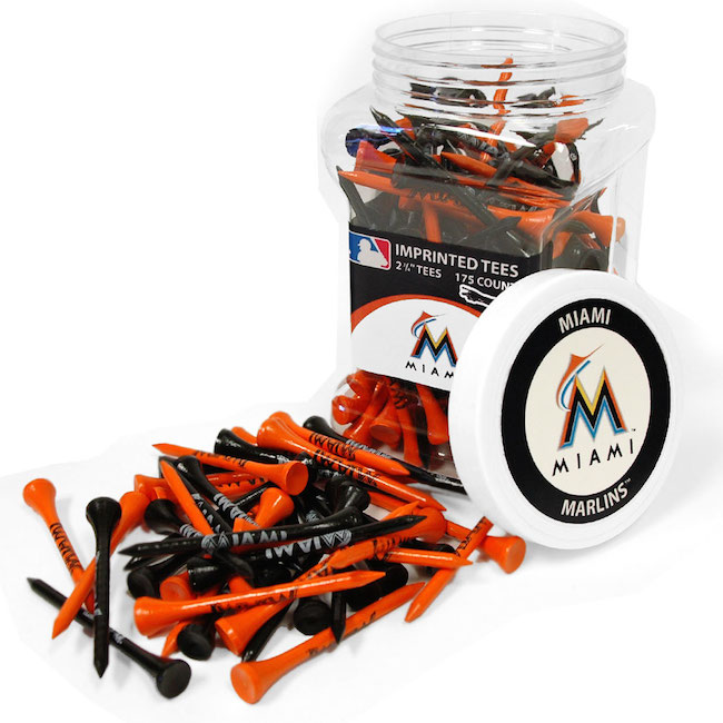Miami Marlins 175 imprinted Tee Jar