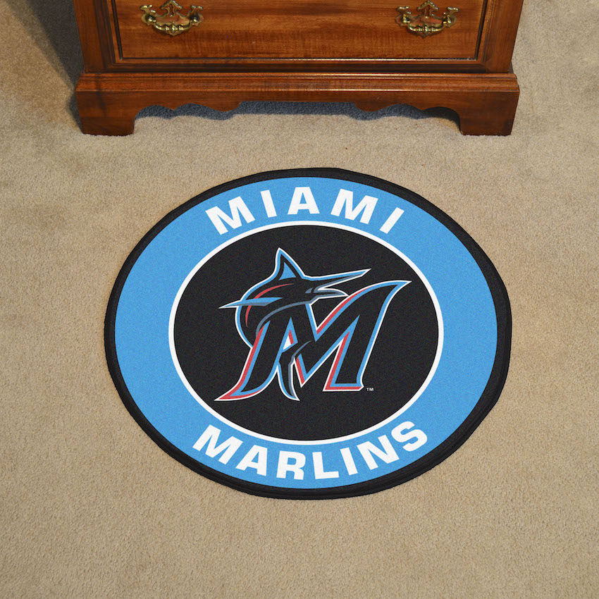 Miami Marlins Roundel Mat