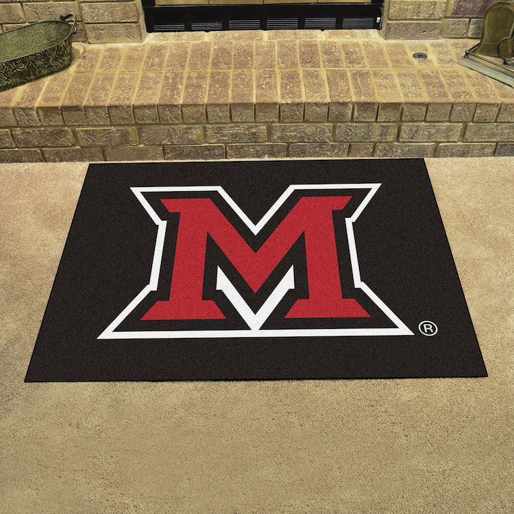 Miami of Ohio Red Hawks ALL STAR 34 x 45 Floor Mat
