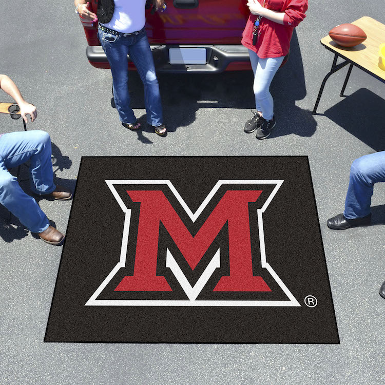 Miami of Ohio Red Hawks TAILGATER 60 x 72 Rug