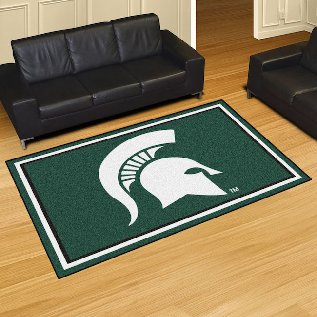 Michigan State Spartans 5x8 Area Rug