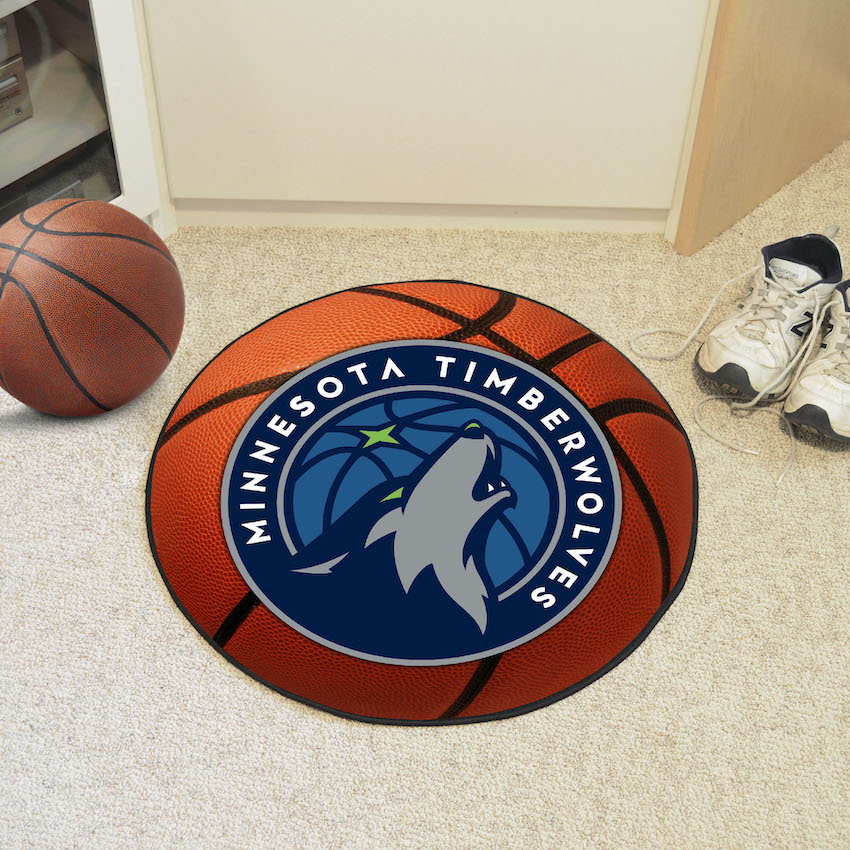 Minnesota Timberwolves Basketball Floor Mat Buy At Khc