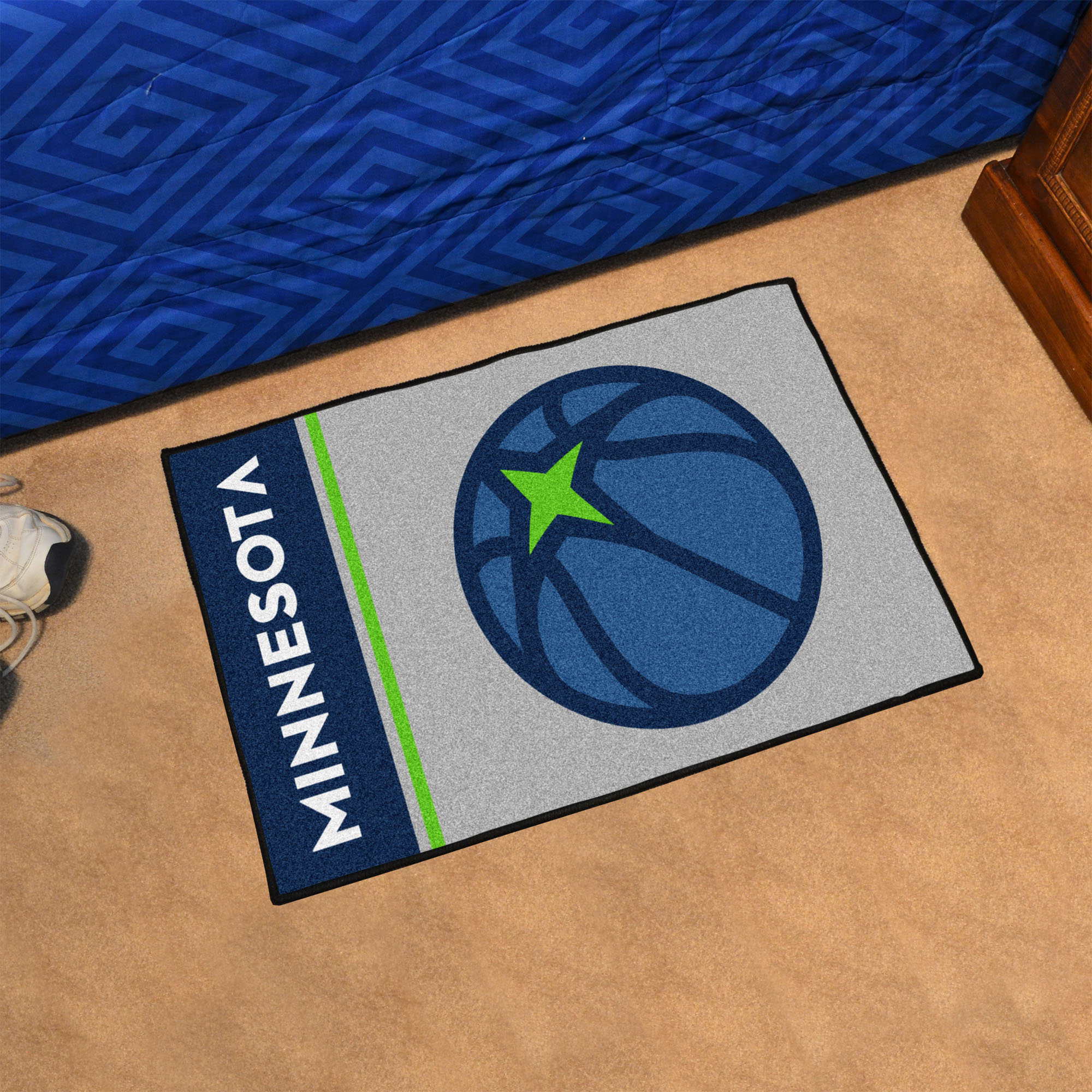 Minnesota Timberwolves 20 x 30 Uniform Inspired Starter Rug