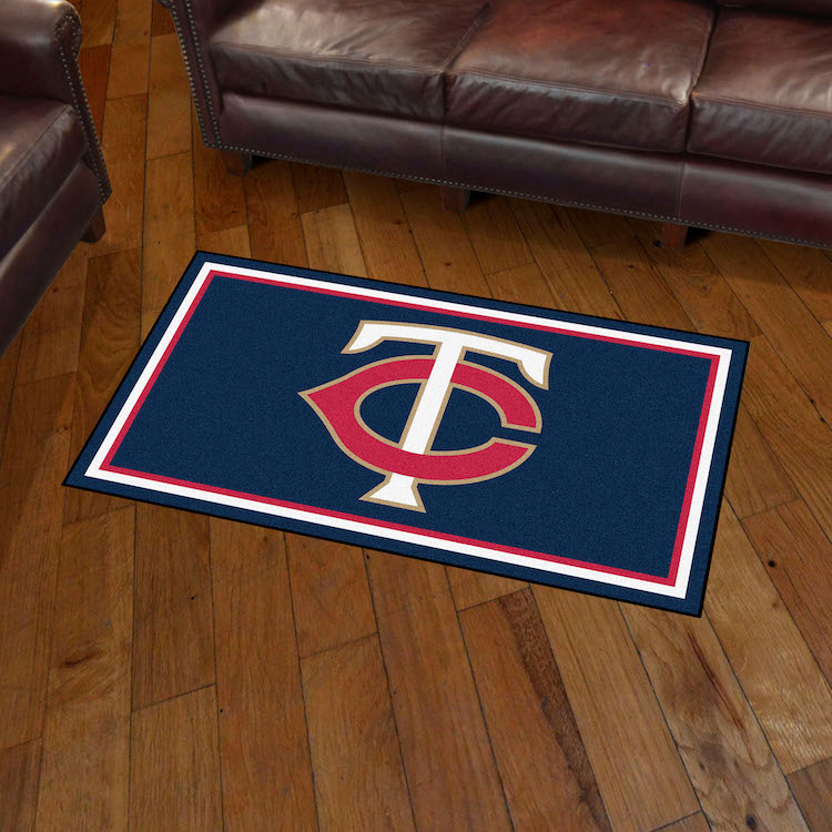 Minnesota Twins 3x5 Area Rug