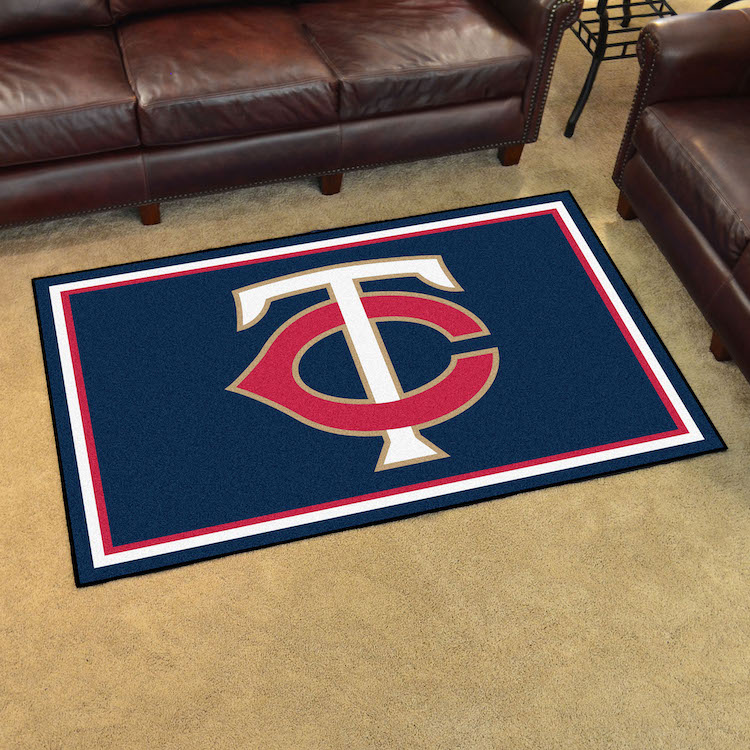 Minnesota Twins 4x6 Area Rug