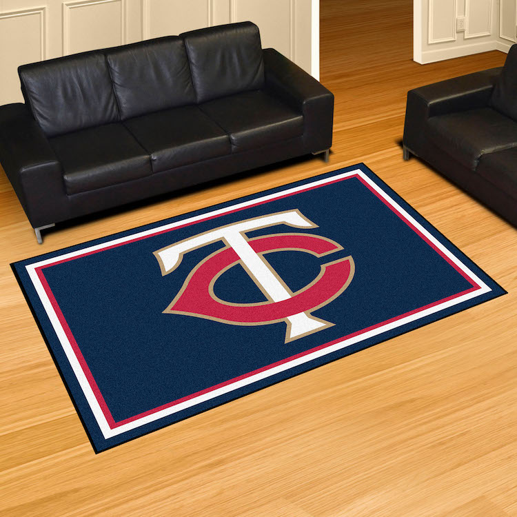 Minnesota Twins 5x8 Area Rug