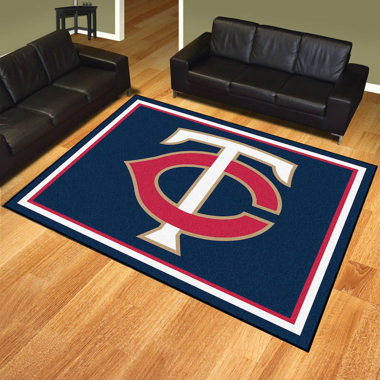 Minnesota Twins Ultra Plush 8x10 Area Rug